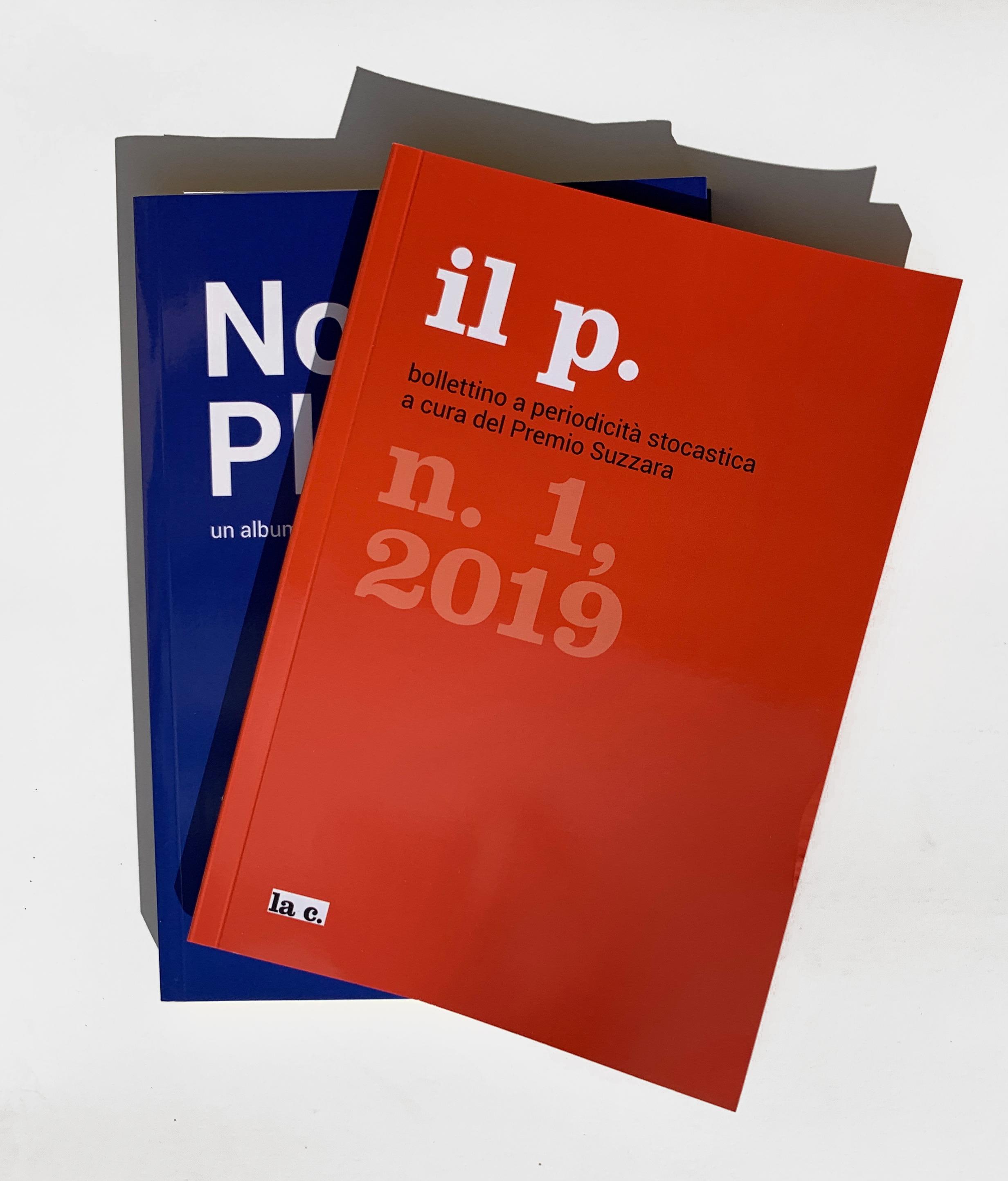 Le dimensioni uguali delle due pubblicazioni sottolineano la continuità sperimentale del nuovo percorso del Premio Suzzara